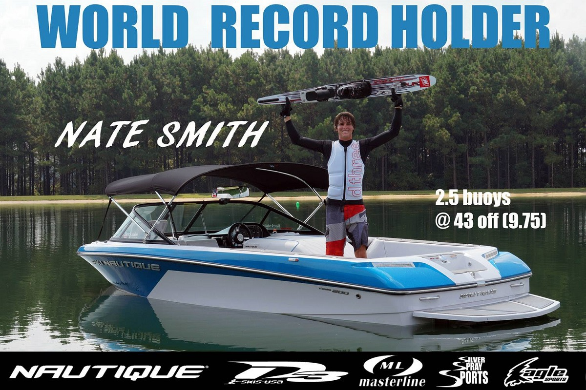 Nate Smith Pro Waterskier Pic 1
